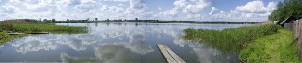 Озеро Нестиар Воскресенского района Панорама