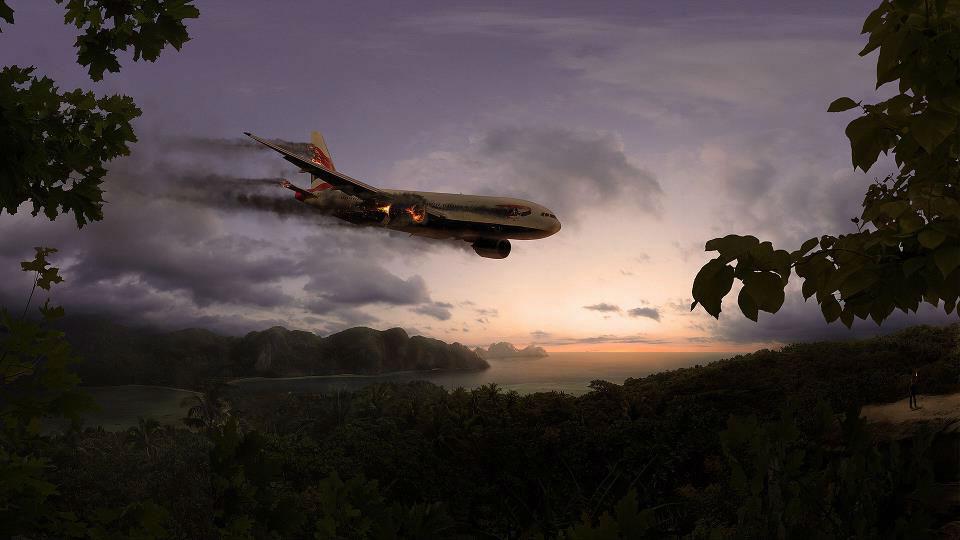 Крушение самолета в джунглях Колумбии