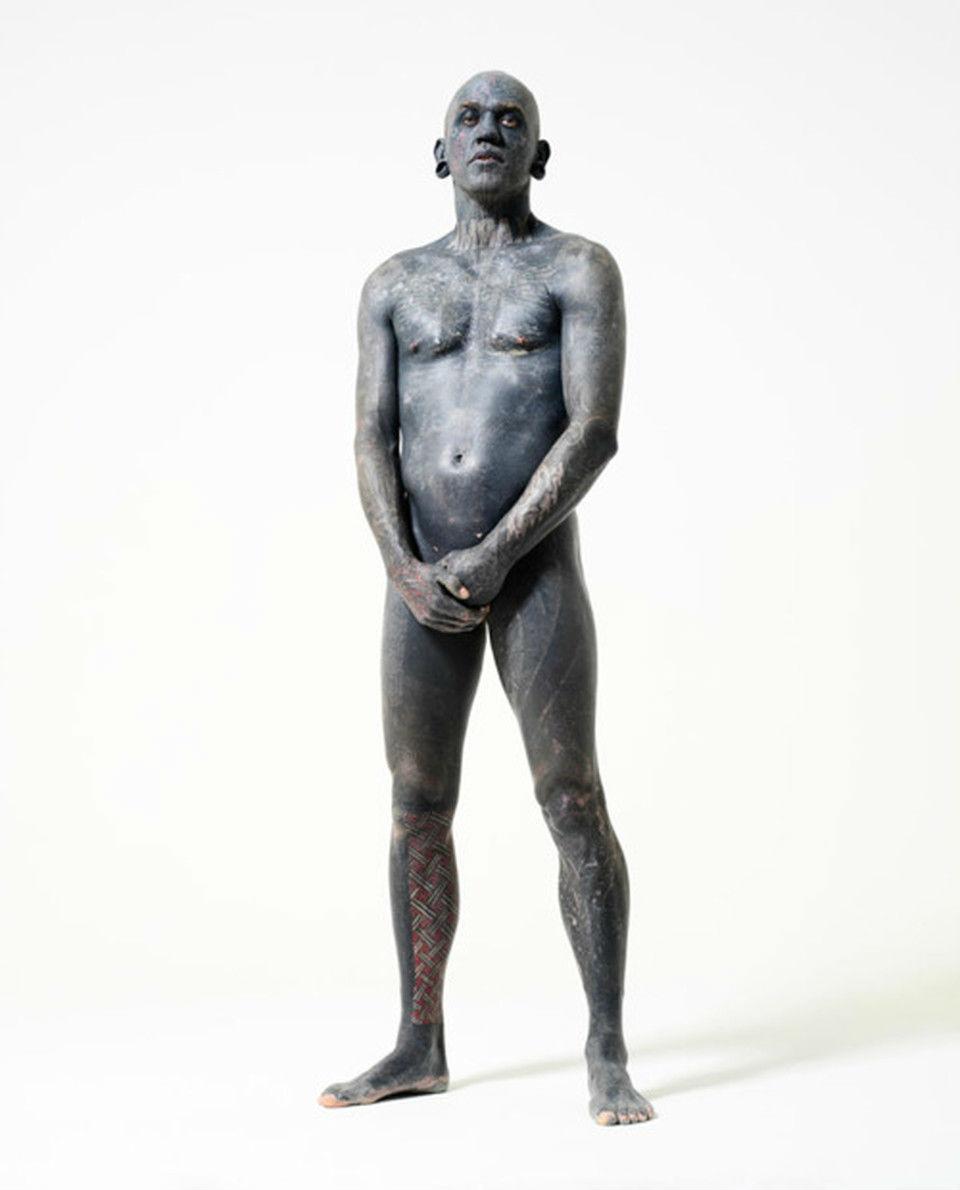Самый татуированный человек - Лаки Даймонд Рич