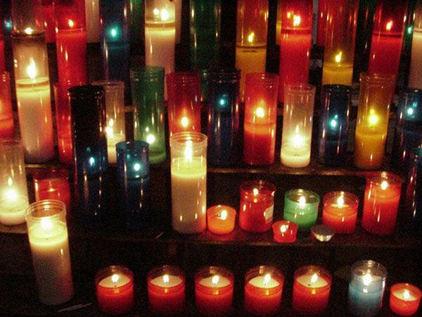 Горят свечи фото