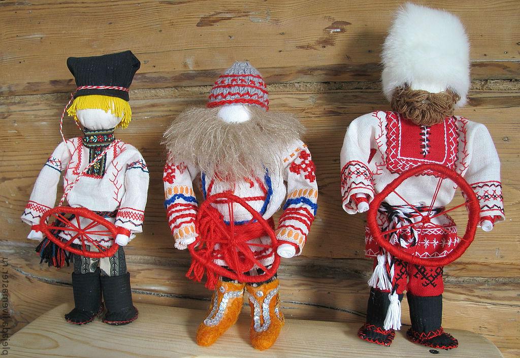 Куклы Спиридон-солнцеворот