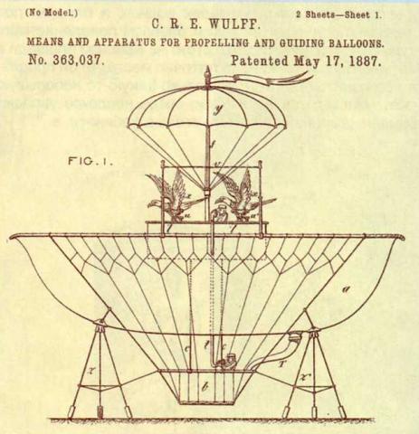 Самые бесполезные патенты. Воздушный шар