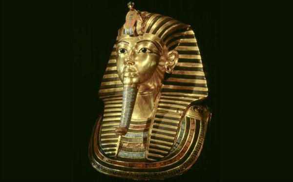 Изображение самого известного фараона Египта - Тутанхамона