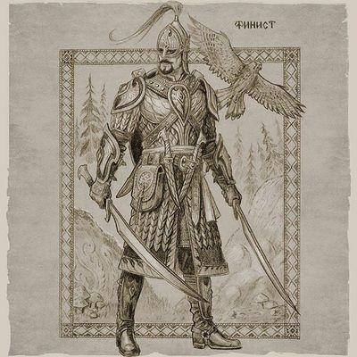 Сказочный персонаж Финист Ясный Сокол