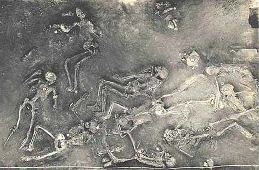 Археологи обнаружили место массового убийства древних людей