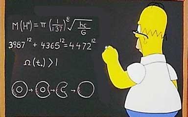 Гомер Симпсон и базон хиггса